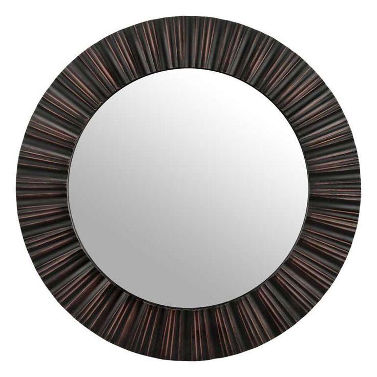 74 best miroirs images on pinterest art of living for Miroir rond dore