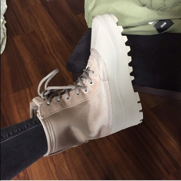 Yeezy boost 950 These shoes were worn a good amount during the winter (these pictures were taken when I just bought them) but is still in great condition! 8/10. I won't budge much on the price but feel free to throw in an offer. PREFER PP Adidas Shoes Winter & Rain Boots