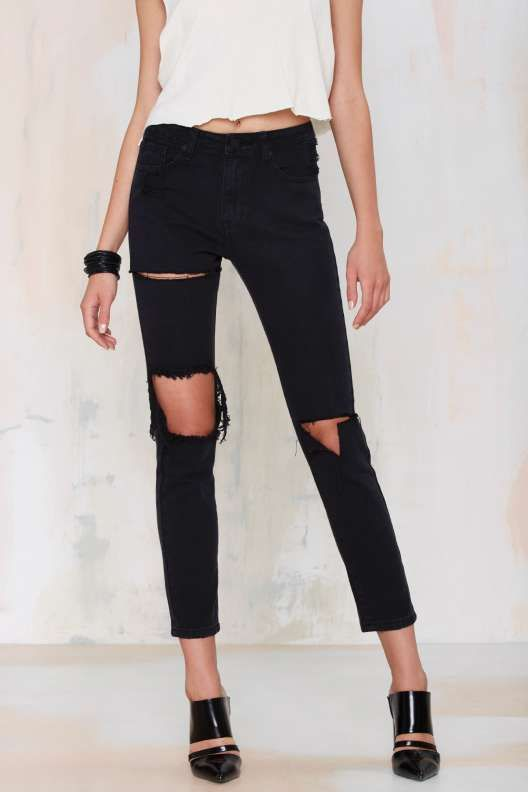 UNIF Romeo Distressed Jeans - Peep Show: