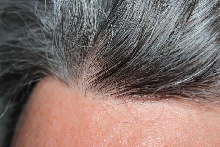 Während die natürliche Haarfarbe eines Menschen …