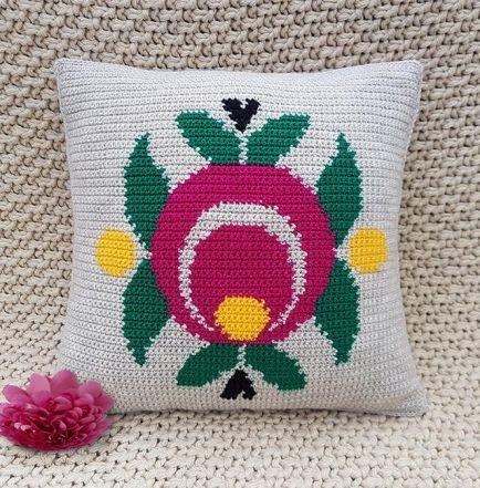 Crochet Pattern   Cushion Cover - C001