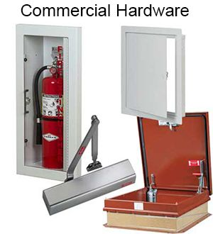 Our comprehensive commercial building and door hardware product offerings include access doors and panels, roof and floor hatches, commercial grade door locks, panic devices, door closers, and fire extinguishers with wall mounted cabinets. For both new construction and remodeling projects, commercial door hardware and fire protection equipment from HarborCitySupply.com provides you with the materials you need from major manufacturers such as Babcock Davis, JL Industries, Larsen's, Hawa, and…