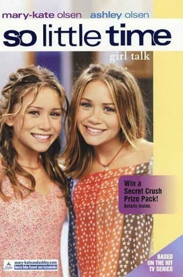 The So Little Time series by Mary-Kate and Ashley Olsen.