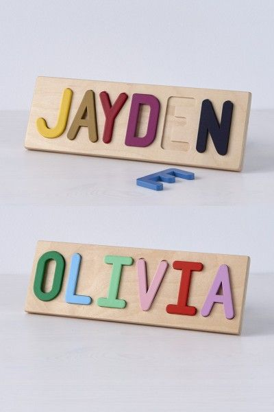 puzzle, name, wood, custom, south bend woodworks, wood puzzle, custom name, woodworking, custom puzzle