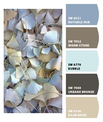 Paint colors from Chip It! by Sherwin-Williams....our hallway is the beige...maybe one of these others for the living room dinning room