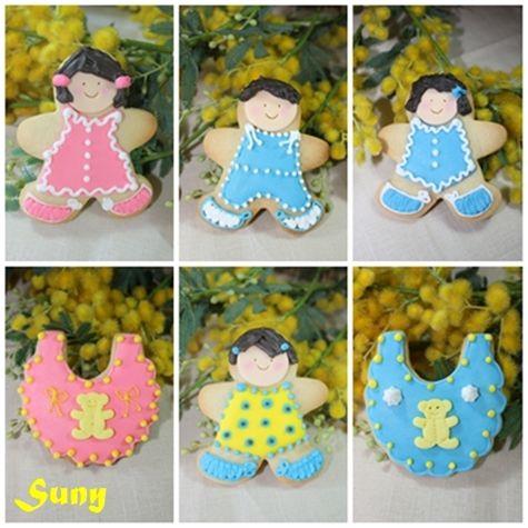 Esta serie la hice para regalar a unas peques.  http://rositaysunyolivasenlacocina.blogspot.com.es/2011/10/galletas-decoradas-masa-y-glasa.html