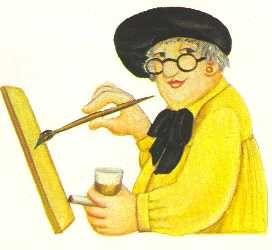 Beryl cook - self portrait