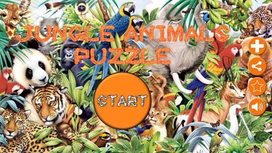 A=animali puzzle - giungla- miniatura App'$ screenshot  - #animals #wild selvatici @ Africa #app #google #play #game gioco ♡_