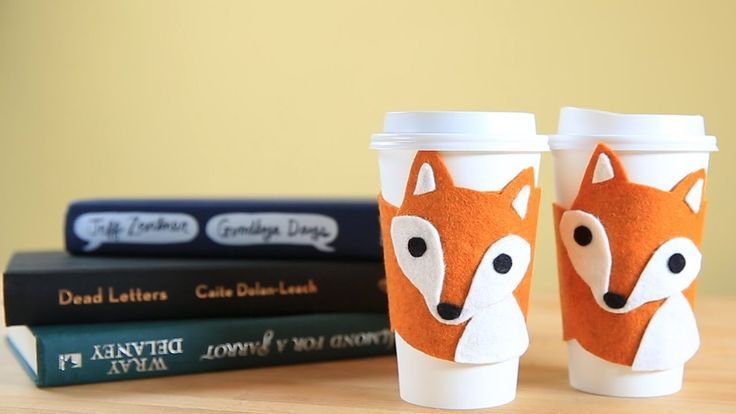 How to Make a Fox Cup Cozy With Lia Griffith