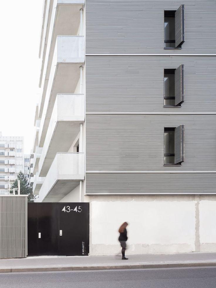 Karawitz Architecture, schnepp · renou photographie · Housing in Paris
