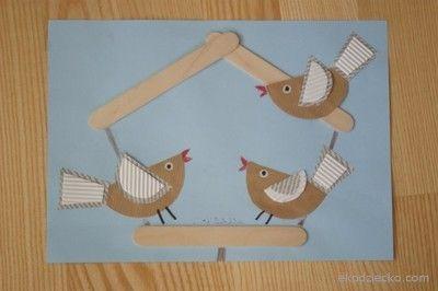 ptaki zimą w karmniku