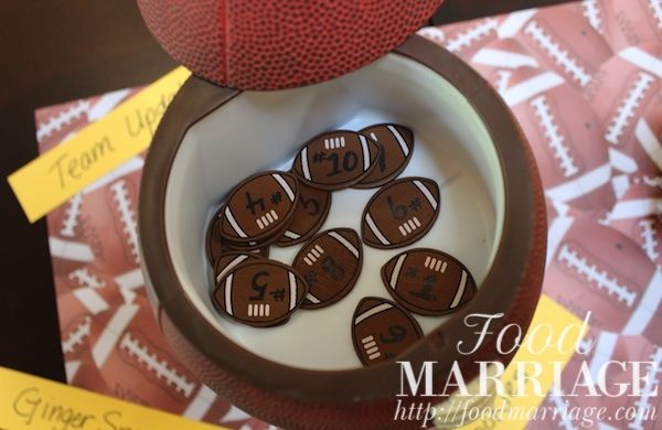Girls Fantasy Football Draft Party: Picking Draft Order @BA Haggerty / FoodMarriage.com