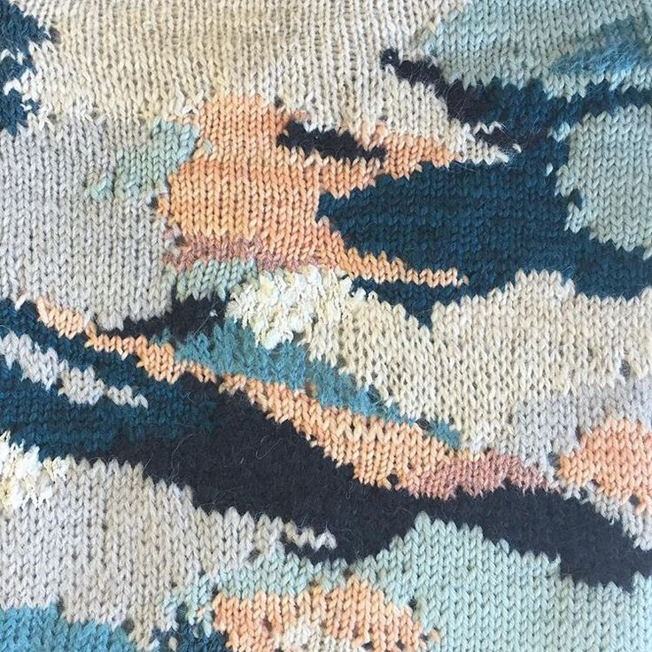 Lauren Tausend 2016 abstract knit