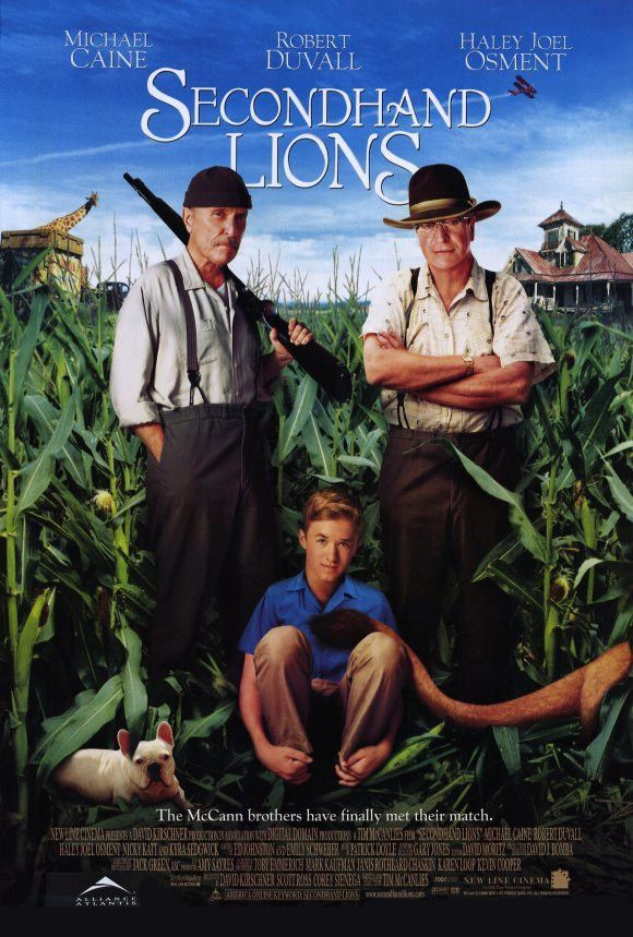 Secondhand Lions 27x40 Movie Poster (2003)