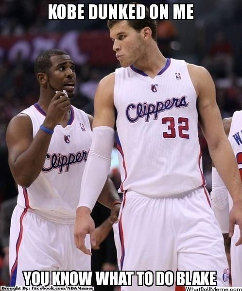 Ha I like this one CP3 one of my favorite players. #GetEmBlake