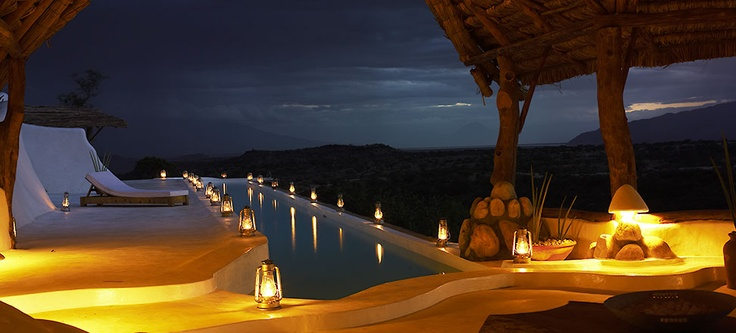 Perfect for a honeymoon in Africa