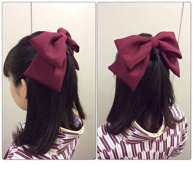16122815 1357752747619777 730333040923901952 N 卒業式 袴 髪型 袴 卒業式 ヘアスタイル 卒業式 髪型 ハーフアップ