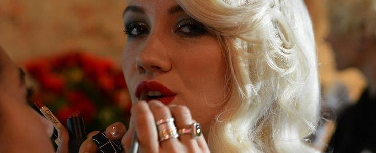 LFW: Hair & Makeup @ Kolchagov Barba catwalk show