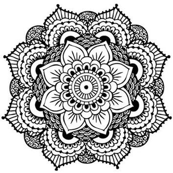 Best mandala tattoo products on wanelo coloring pages for Best moisturizer for tattoo