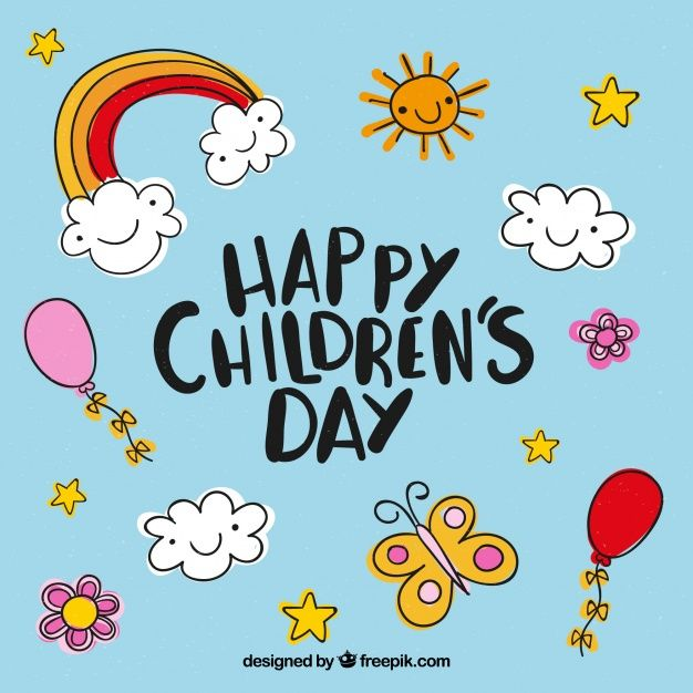 Download Childrens Day Design With Elements For Free Children S Day Wishes Happy Children S Day Child Day