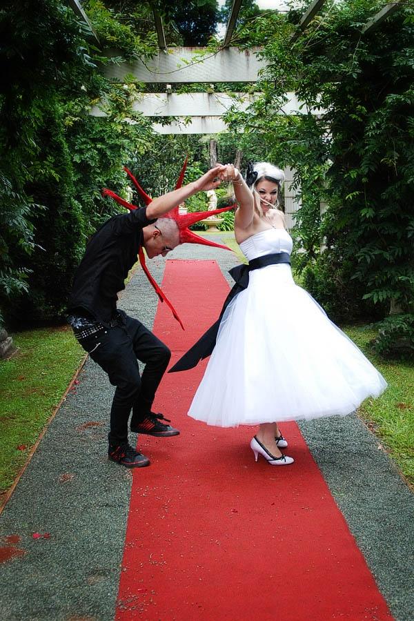 Punk Rock Wedding: Lauren & Con