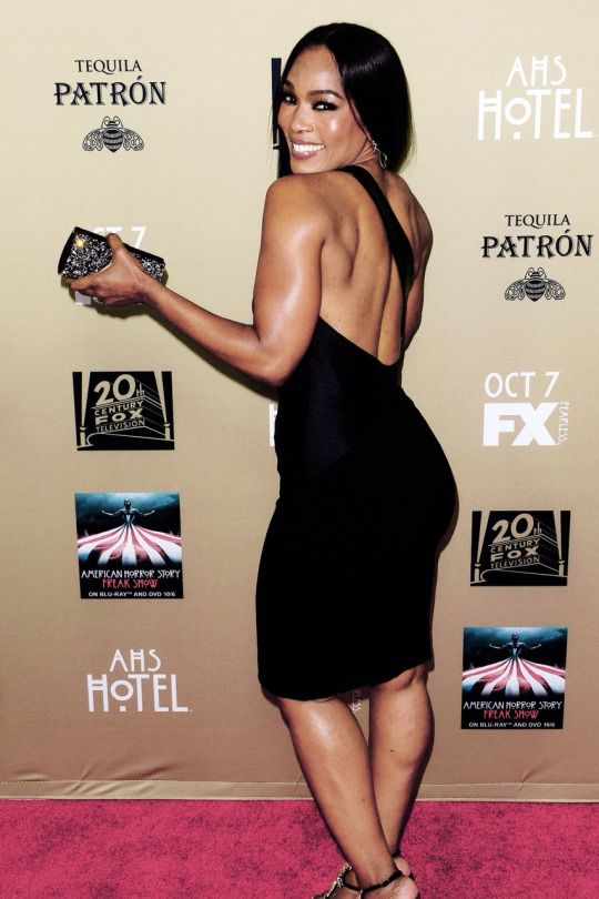 taissa farmiga aesthetic -- Angela Bassett attends FX's 'American Horror Story: Hotel' screening in LA (10/3/15)