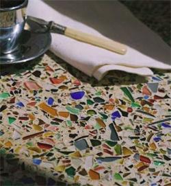 Recycled Glass Countertops. Vetrazzo