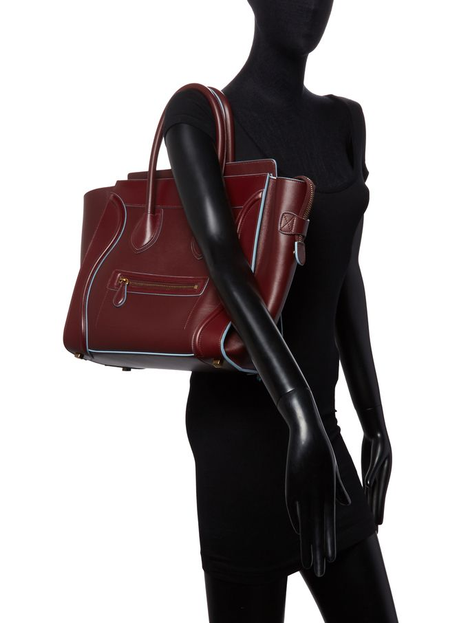 Luggage Mini Leather Tote from Fall for It: Designer Investments on Gilt