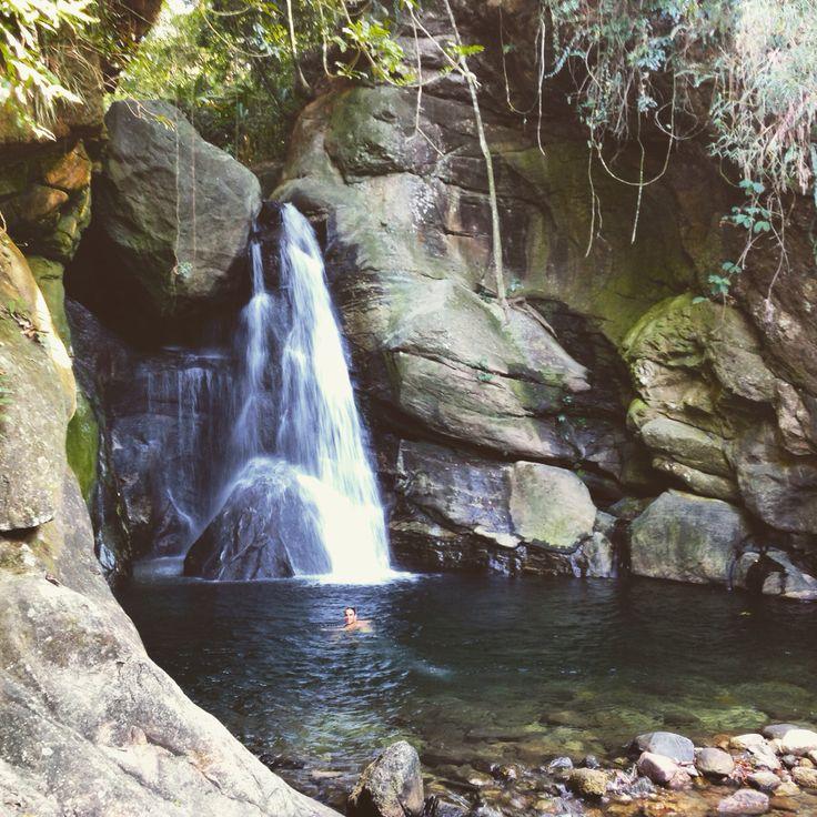 Brazil - Aldeia velha - RJ. Cachoeira das Andorinhas.