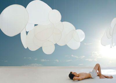 Cloison Mobileshadows - Nimbo semi-transparent - 56x54 cm 56 x 54 cm - Semi-transparent - Smarin