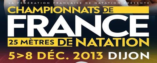 [Natation] Championnat de France 25m 2013