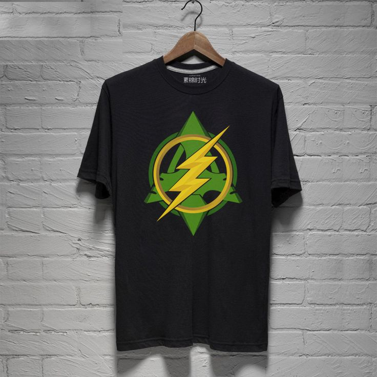 Green Arrow and The Flash Logo T-shirts For Boys