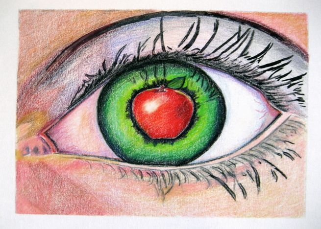 You Are The Apple Of My Eye Card Photoshop Effects Cards My Eyes