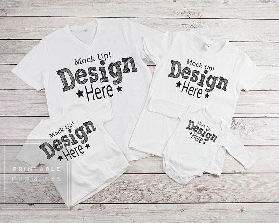 Download Free Family Shirt Mock Ups Matching Family Blankwhite Shirt T Shirt Psd Free Psd Mockups Shirt Mockup Mockup Free Psd Free Psd Mockups Templates