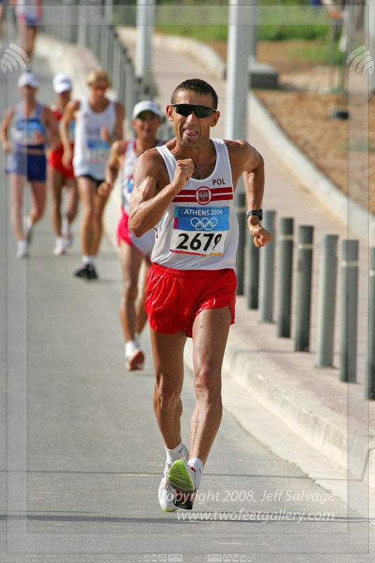 Robert Korzeniowski - Athletics - Athens Olympics 2004 - Mens 50km Racewalk ~ Sydney 2000 - Mens 20km & 50km Race walk ~ Atlanta 1996 - Mens 50km roadwalk