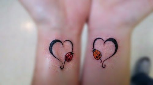 32 Beautiful Mother and Daughter Tattoo Ideas http://tattooparadise.org/mother-daughter-tattoos/ #tattoo