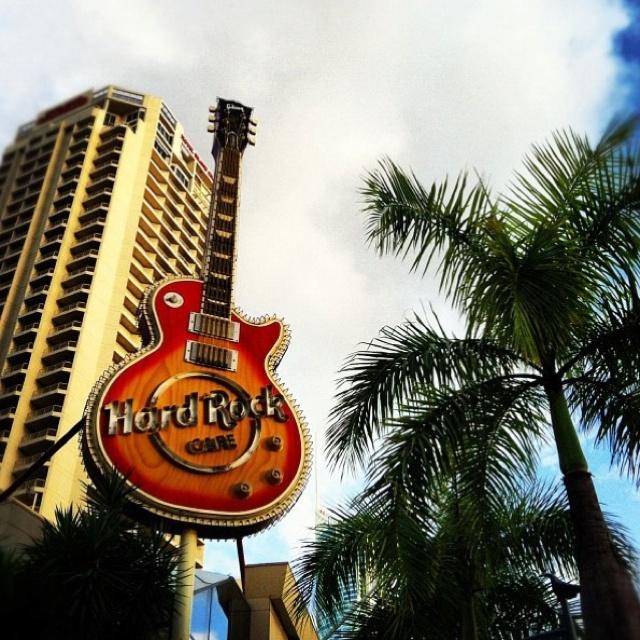 Hard Rock Cafe Surfers Paradise.