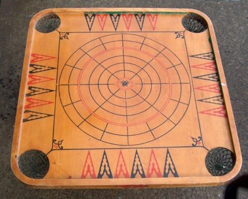old carom board