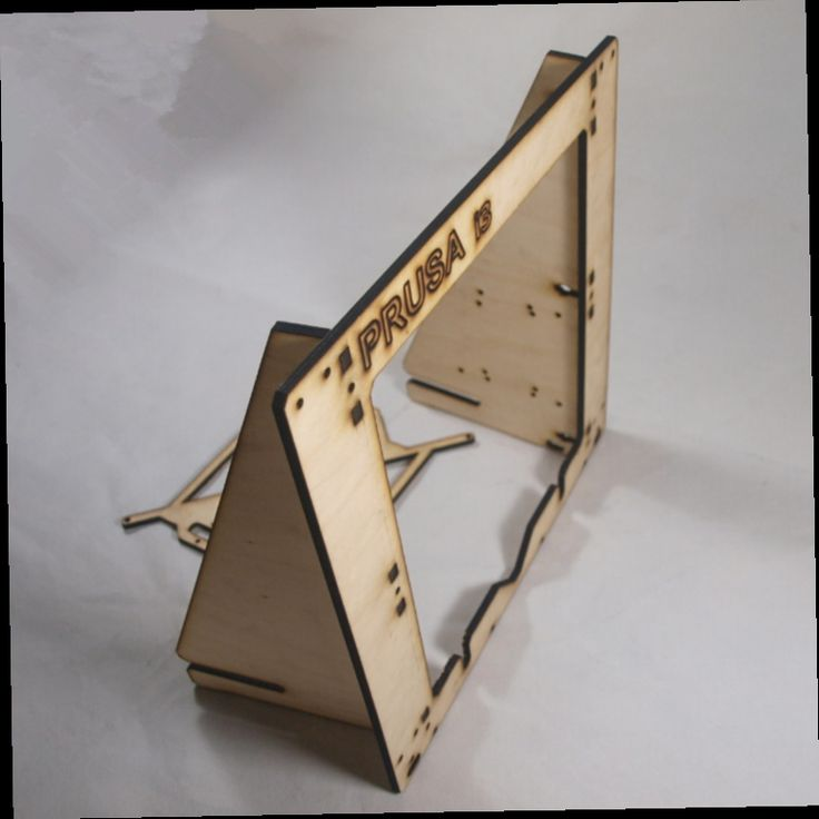 41.02$  Watch now - http://aliylp.worldwells.pw/go.php?t=1886342951 - 3 D printer parts reprap  mendel prusa I3 laser cut frame wooden in 6mm plywood  free shipping 41.02$