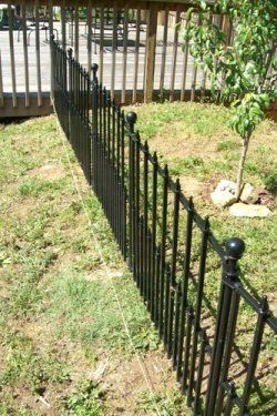 How to install Lowes Empire No Dig Fencing House Ideas