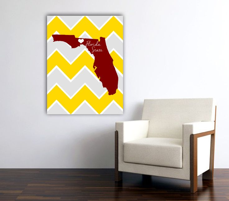 Florida State University | University | College | Heart | Love by EdmondsonbyDesign on Etsy https://www.etsy.com/listing/214571915/florida-state-university-university
