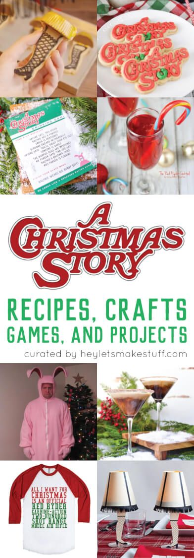 A Christmas Story Crafts, Games, Recipes, and Projects - Hey, Let's Make Stuff