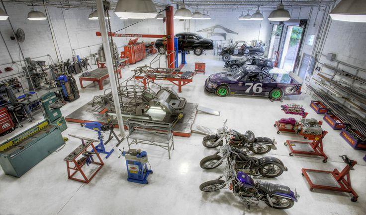 Jeff Milburn's garage