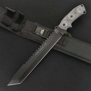 Couteau de Survie Machette Tops Steel Eagle Carbone 1095 Tops Knives Made In USA TP111A - Livraison Gratuite