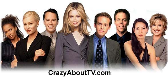 ALLY McBEAL 1997-2002.  Ally McBeal demonstrated total poise and professionalism in court while being totally irrational in her private life.