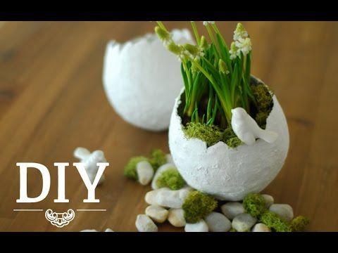 DIY: Hübsche Oster-Deko-Vasen einfach selber machen | Deko Kitchen - YouTube