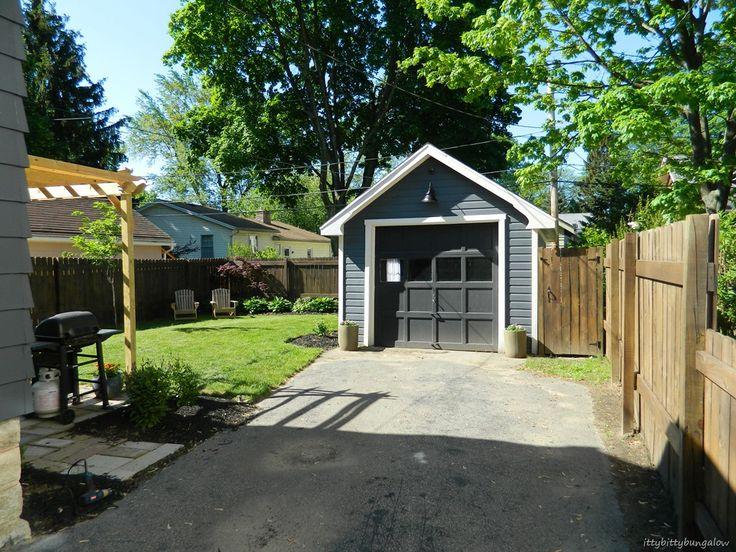 Shared driveway privacy fence google search patio for Garage fence