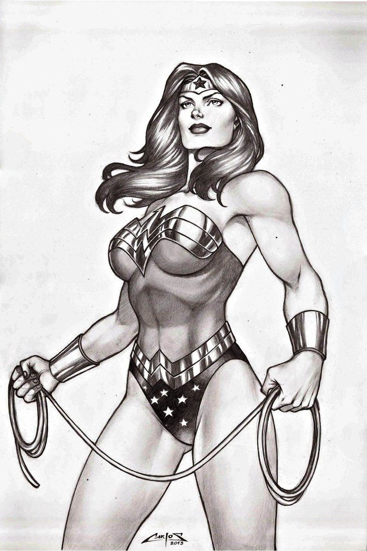 Wonder Woman by carlosbragaART80 on DeviantArt