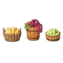 Fontanini 7.5 Inch Scale 3 Piece Basket Accessories direct from FontaninStore.com