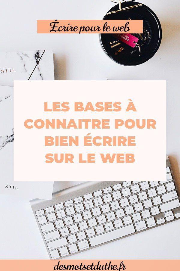 0e1cd0e65dd Techniques de rédaction web   les bases à connaitre pour bien écrire sur le  web